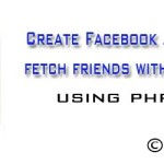 Create facebook application and fetch friends with profile picture using php and fql