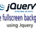 Responsive fullscreen background slider using Jquery
